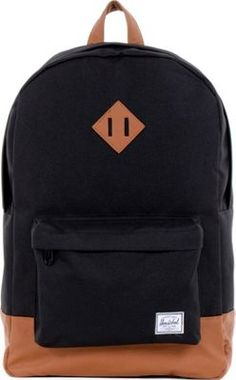 Herschel Supply Co. Heritage Laptop Backpack Black #Herschel #backpacks #herschelgirlbackpacks #guys #girls #herschelforschool #herschel