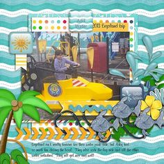 Legoland : Gallery : A Cherry On Top The kids had such a good time at Legoland!  I used the new release from HOT FLASH DESIGNS called LIKE A FISH found here: http://www.acherryontop.com/shop/digital/company/hotflashdesigns/9013598 for this layout! :) I also used a free template from AK Designs.