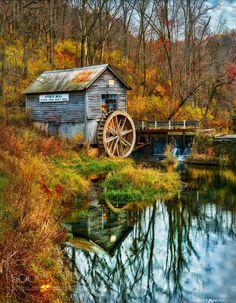 Hyde's Mill in Fall