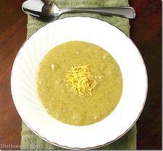 Broccoli Cheese Soup | Diethood