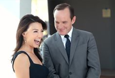 Clark Gregg & Ming-Na Wen (Phil Coulson & Melinda May) - Agents of S.H.I.E.L.D. Can we take a moment to stare at the way CG is looking at her?