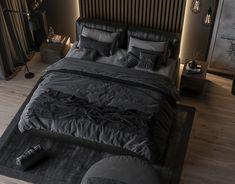 Bedroom Setup, Master Bedroom Interior, Home Room Design, Master Bedroom Design, Dream Home Design, Dream Bedroom, Modern Bedroom, Home Interior Design, Bedroom Decor