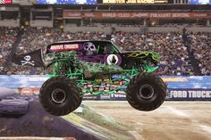 See Grave Digger at Monster Jam, coming to the Allstate Arena in Rosemont.