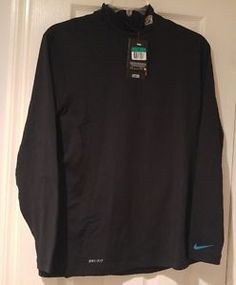 new product 21f5f 4fff7 Nike Jacksonville Jaguars Hyperwarm Turtle Neck Shirt Mens XL NFL Football  for sale online   eBay
