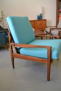 retro, vintage, FLER NARVIK ARMCHAIR, danish style, parker era, Fred Lowen, 60's in Home & Garden, Furniture, Sofas, Couches | eBay - love it!