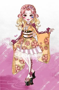 Ever after high: Peach Girl