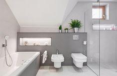 Chalupa v Moravskom krase Chalupa, Alcove, Toilet, Studios, Bathtub, House Design, Bathroom, Architecture, Architecture House Design