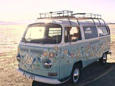 Volkswagen – One Stop Classic Car News & Tips Kombi Trailer, Vw Caravan, Kombi Motorhome, Campervan, Motorhome Travels, Caravan Ideas, Combi Hippie, Van Hippie, Hippie Car
