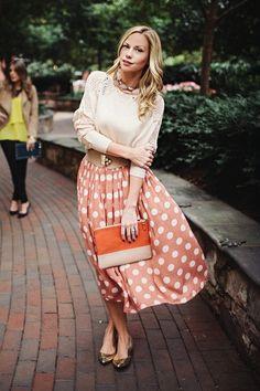 polka dot the cheeky bean skirt - crochet the cheeky bean sweater