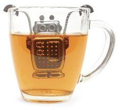Infuse your tea with a little technology. Found on Wish: http://bit.ly/yLsSJI