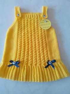 Knit Baby Vest Cardigan Dress Samples Source by lifmodeli Baby Sweater Patterns, Baby Knitting Patterns, Dress Patterns, Crochet Patterns, Baby Vest, Baby Cardigan, Girls Sweaters, Baby Sweaters, Crochet Girls