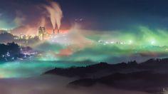 この世のものとは思えない、「秩父の雲海」の写真がTwitter上で話題になっています。埼玉県秩父市で撮影されたこの写真には、濃い霧の中に浮かぶ山々や町が写されていま …