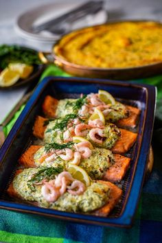 Laxfile med färskost | Zeinas Kitchen | Bloglovin' Salmon Recipes, Fish Recipes, Seafood Recipes, Healthy Dinner Recipes, Cooking Recipes, Zeina, Vegetable Salad, Food For Thought, Food Inspiration