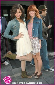 "Bella Thorne And Zendaya Coleman ""The Same Heart"""