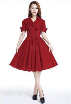 Retro Dress by Amber Middaugh