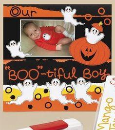 Baby's Halloween Scrapbook Page: Scrapbooking Projects: Shop | Joann.com