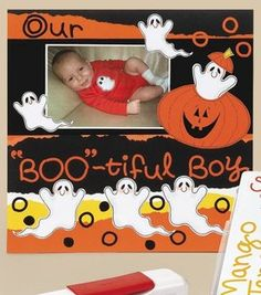 Baby's Halloween Scrapbook Page : Scrapbooking Projects :  Shop | Joann.com