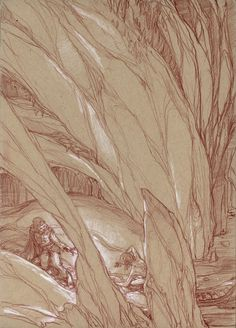Sketches from Middle-Earth: Visions of a Modern Myth by Donato Giancola.