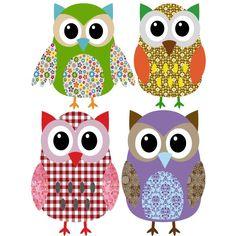 owl felt or fabric ideas Harry Potter Pets, Owl Wallpaper, Owl Classroom, Owl Shirt, Owl Fabric, Owl Pictures, Owl Always Love You, Owl Crafts, Cute Owl