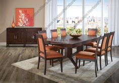 Canadel High Style Dining Set - TRE 4288 / CHA 5021