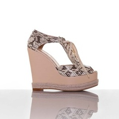 Esther Wedge Light Snake, $175, now featured on Fab.