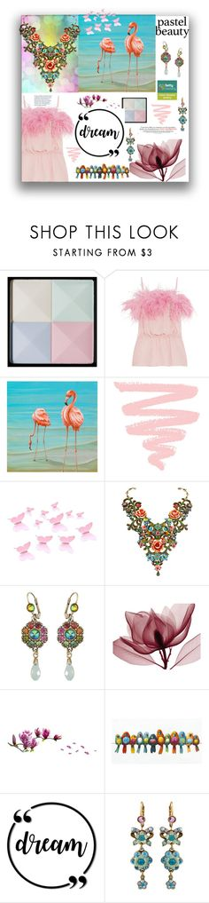 """Pastel Beauty : Dream"" by settygallery ❤ liked on Polyvore featuring Givenchy, Prada and Michal Negrin"