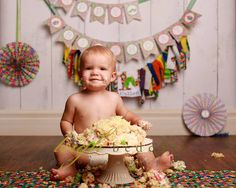 You can tell he loved the cake...  | Leigh Bedokis Photography | 618-985-6016 www.bedokis.com | #SouthernIllinois #Photography