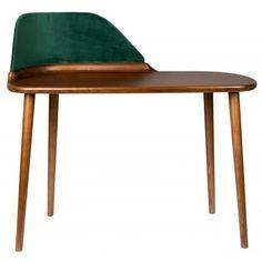 Lakované jasanové dřevo spolu se sametovým panelem tvoří luxusně vyhlížející kombinaci.
