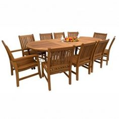 Set Teak Garden Furniture STG-1012