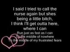 ▶ pink just like a pill lyrics - i can't stay on your life support, there is a shortage on the switch. Can't stay on your morphine cause it is making me itch!