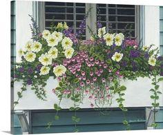 Bruce Dumas Premium Thick-Wrap Canvas Wall Art Print entitled Nantucket Bloom, None