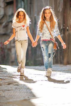 Kid's Wear - Vingino SS 2015 - dezdemon-fashion-trends. Preteen Fashion, Teen Girl Fashion, Young Fashion, Little Girl Fashion, Fashion 101, Fashion Kids, Kids Winter Fashion, Fashion Wear, Fashion Trends