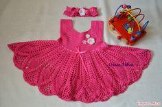 Crochet: DRESS FOR GIRLS 2