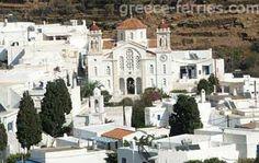 Pyrgos on Tinos Island, village of marble