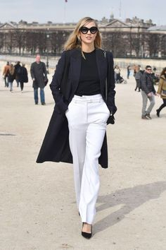 12 tips on how to make your outfit look more expensive; Karlie Kloss.