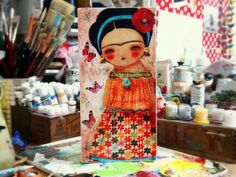 frida and the butterflies