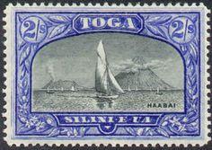sailboat, volcanoes, Haabai