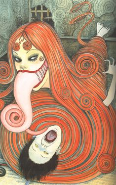previously Hitokiri-battosai (account was terminated) I'll probably make you uncomfortable 29 body modification gore anime/manga Dir en Grey Yakuza Vertigo comics video games bdsm foreign cinema. Manga Art, Manga Anime, Anime Art, Japanese Horror, Japanese Art, Creepy Art, Weird Art, Kunst Inspo, Art Inspo