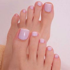 35 Amazing Nail Art for Your Toes Toe Nail Color, Toe Nail Art, Nail Colors, French Pedicure, Manicure And Pedicure, Pedicures, Pretty Toes, Pretty Nails, Ongles Gel French
