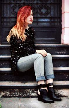 La bloggera Lua Perez sirvió de inspiración para Gabriela y Stephanne.