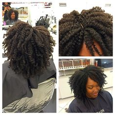 Knot less Crochet Braids-Photo taken by @all_things_virtuous on Instagram, pinned via the InstaPin iOS App! (12/08/2014)