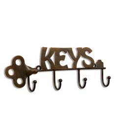 Look at this #zulilyfind! 'Keys' Keyring Holder #zulilyfinds