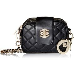MG Collection Quilted Mini Evening Convertible Shoulder Bag