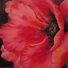 "poppy's painted in acrylic | Gallery ""Poppy Exotica"""