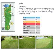 Golf Course Hole 6 - Isla Del Sol Yacht & Country Club ~ 6000 Sun Boulevard, St Petersburg, Florida 33715 ~ 727.906.4752 ~ www.isladelsolycc.com