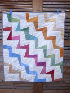 A Winter Herringbone Quilt by maureencracknell, via Flickr ... : wonky quilt - Adamdwight.com