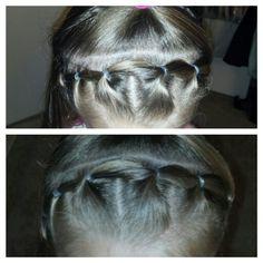 Little girl hair do
