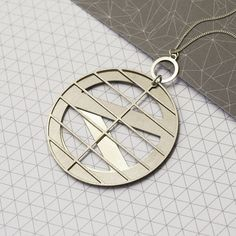 Visionary architect Louis Kahn was born #onthisday in 1902. His greatest work was the National Assembly Building in Dhaka, Bangladesh which inspired the design for this necklace, available exclusively from the Design Museum Shop.  #ShopSaturday #DesignMuseum #DesignMuseumShop #architecture #jewellery #design @dowsedesign