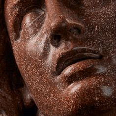 """The Dying Alexander (detail) . Head of The Dying Alexander (detail), copy after the famous antique marble head in the Uffizi, Florence. """"A dark mist crossed the sky, and a bolt of. Alexander The Great, 18th Century, Mists, Florence, Marble, Detail, Antique, Sky, Macedonia"""