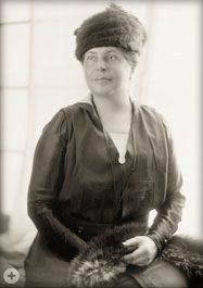 LILLIAN D. WALD, founder of the Henry Street Settlement in New York City, and her friend FLORENCE KELLEY are credited with conceiving the idea for a Federal agency to promote child health and welfare in 1903. Impressed with the idea, a friend of Wald's wired PRESIDENT THEODORE ROOSEVELT, who promptly invited the group to the White House to discuss it further. The journey to create the Children's Bureau had begun.  (PHOTO:  LILLIAN D. WALD)